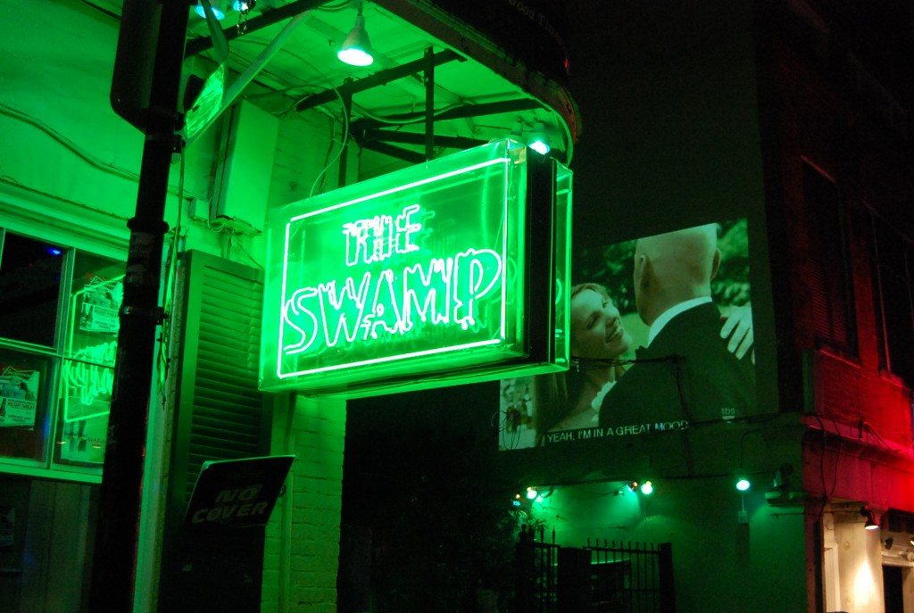 bourbon street balcony the swamp
